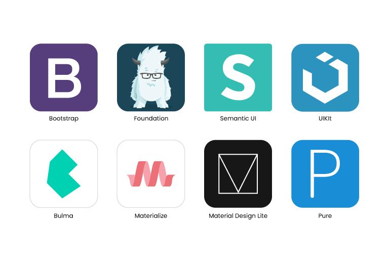 Material-based CSS frameworks